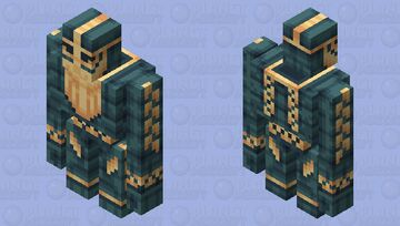 -=[ Iron Dwarf ]=- Minecraft Mob Skin