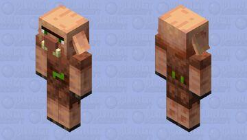 Villager Piglin Minecraft Mob Skin