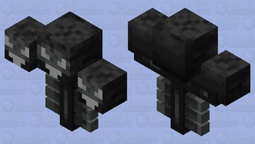 jerryified wither Minecraft Mob Skin