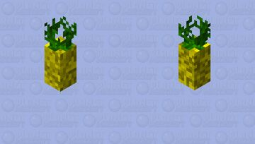 Magic Flying Pineapple Minecraft Mob Skin