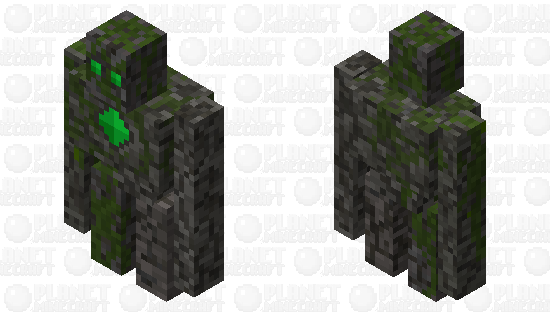Earthen Stone Golem Minecraft Skin