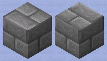 Stone Brick Shulker Minecraft Mob Skin