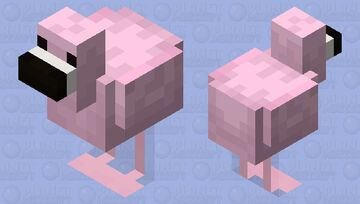 Flamingo Minecraft Mob Skin