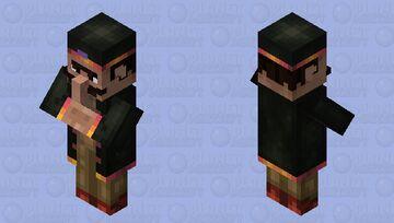 Haroun Charas Salaam Aleikoum, desert biome dealer (nosy villager contest) Place1! Minecraft Mob Skin