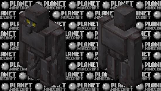Netherite Golem Minecraft Skin