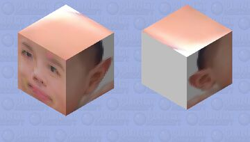 Nonomura Ryutaro Minecraft Mob Skin