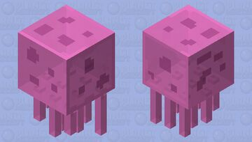 Jellyfish from Spongebob Minecraft Mob Skin