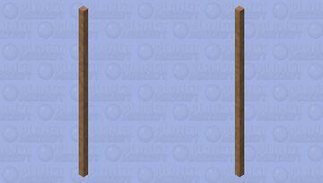 Wooden Stick Minecraft Mob Skin
