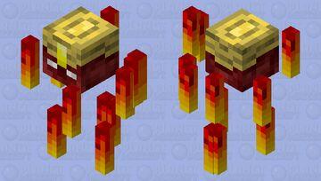 HoMM3 Efreeti Sultan Minecraft Mob Skin