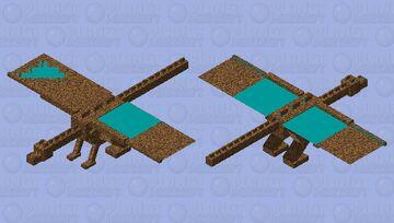 dirrt ender dragon Minecraft Mob Skin