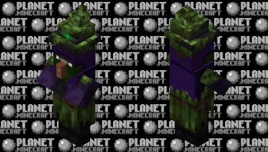 Isn't it strange that the witch didn't get a texture update? Minecraft Skin