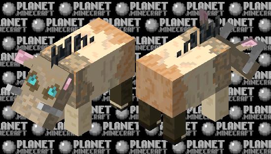 Inosuke HOGLIN Nether Mob Contest Minecraft Skin