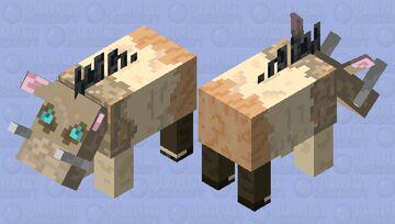 Inosuke HOGLIN Nether Mob Contest Minecraft Mob Skin