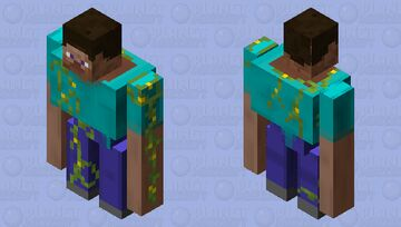 Buff steve has stayed in the same place too much... Minecraft Mob Skin