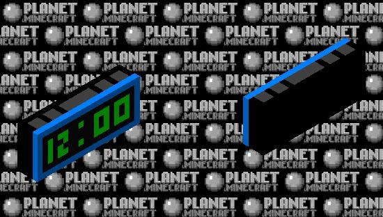 Alarm Clock Minecraft Skin