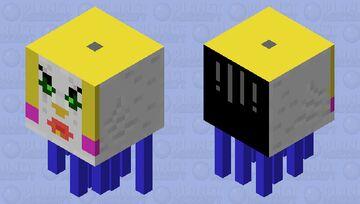 weird ghast Minecraft Mob Skin