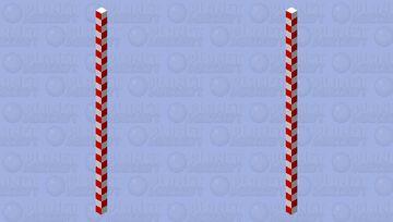 Candy cane Minecraft Mob Skin