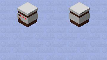 I miss you nutella Minecraft Mob Skin