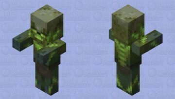 Radioactive Zombie Villager (No Profession) Minecraft Mob Skin