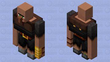 villager brute / villager thanos Minecraft Mob Skin