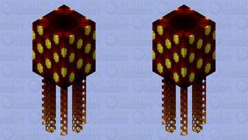 Multi-Eyed Devil Squid Minecraft Mob Skin