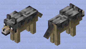 Husky Wolf Minecraft Mob Skin