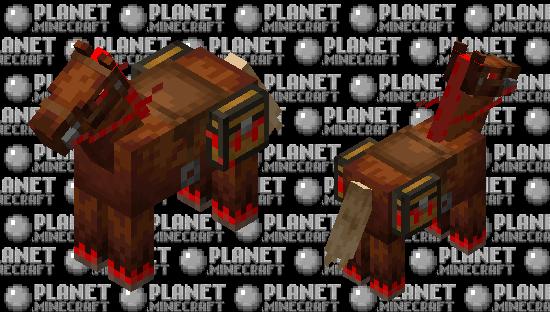 Hellish Horse/Donkey/.. Minecraft Skin
