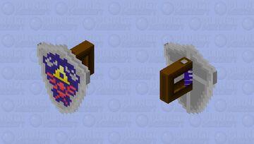 Hylian Shield (Shaded) Minecraft Mob Skin