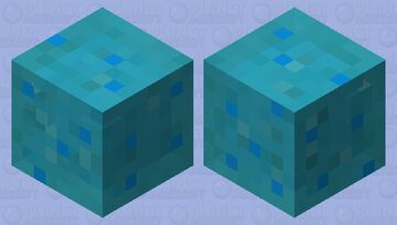 Alternate slime Minecraft Mob Skin