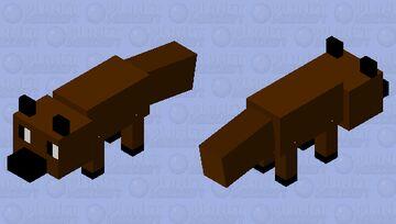 a fox Minecraft Mob Skin