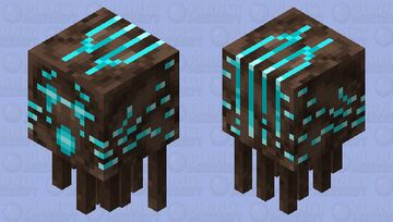 Soul Sand Valley Ghast Shooting Texture Minecraft Mob Skin