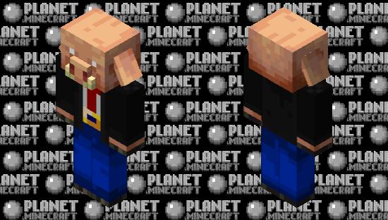Piglin Defense Attorney Minecraft Skin