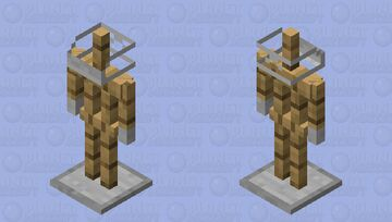 Mask and Gloves for your armor Minecraft Mob Skin