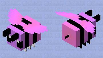galaxy bee Minecraft Mob Skin