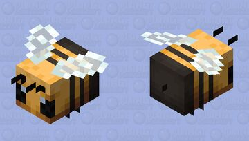 The bee Minecraft Mob Skin