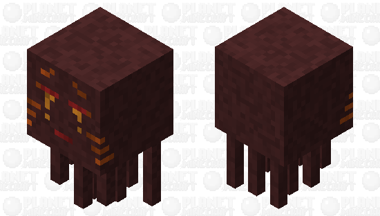 Magma Ghast Minecraft Skin