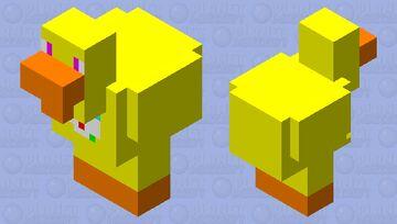 CHICKA the CHICKEN Minecraft Mob Skin