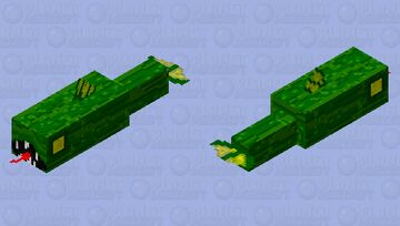 Alive water pickle Minecraft Mob Skin