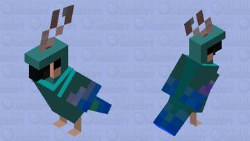 Parrot redesign Minecraft Mob Skin