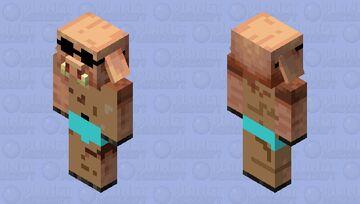 Summer Piglin Minecraft Mob Skin