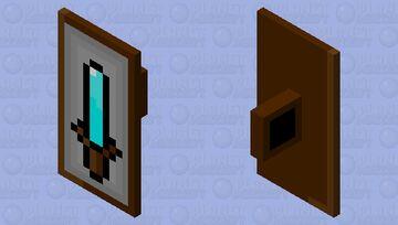 sword shield Minecraft Mob Skin