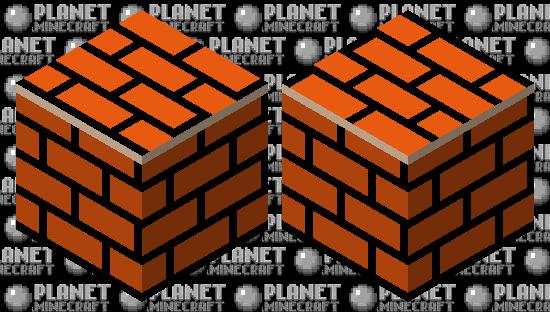 Brick Block - Super Mario Bros. Minecraft Skin
