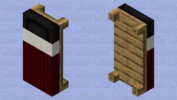 Plaid bed Minecraft Mob Skin