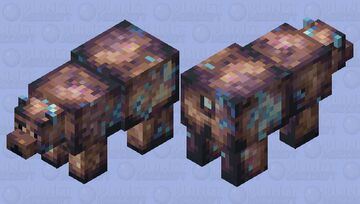 Charged Brown Bear Minecraft Mob Skin