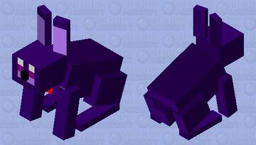 Bonnie The Rabbit Minecraft Mob Skin