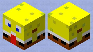 bob esponja Minecraft Mob Skin