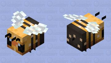 The bee nectar Minecraft Mob Skin