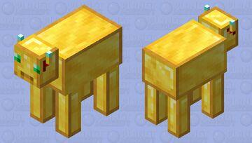 Golden Bull Minecraft Mob Skin