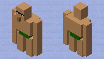 Heavy Villager Minecraft Mob Skin