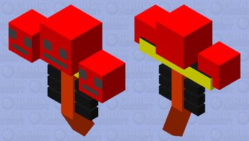 Lava Wither Minecraft Mob Skin